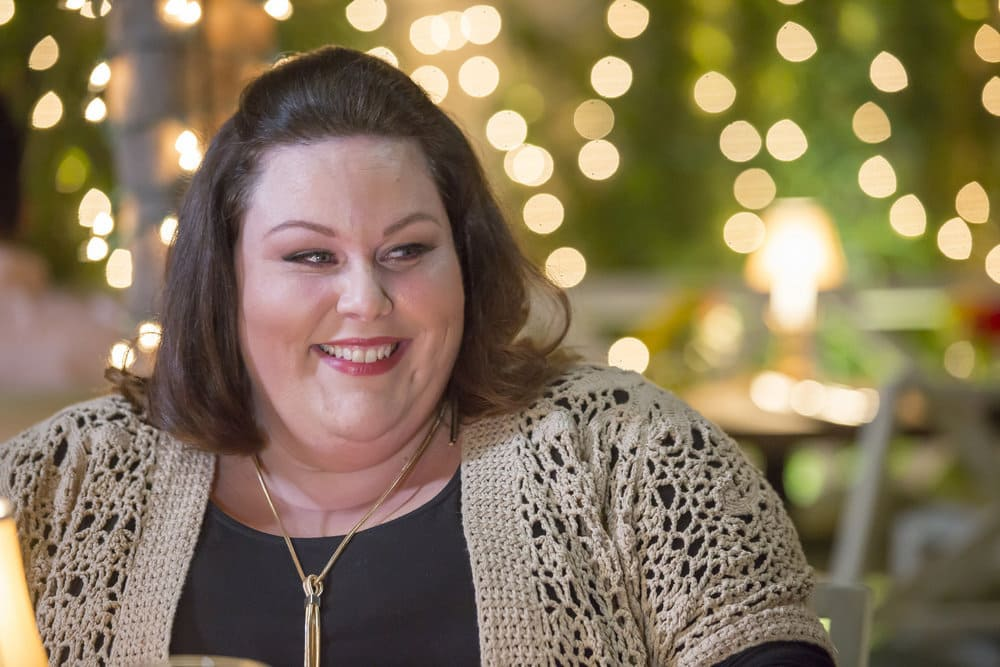 """THIS IS US -- """"The Best Washing Machine in the Whole World """" Episode 107 -- Pictured: Chrissy Metz as Kate -- (Photo by: Ron Batzdorff/NBC)"""