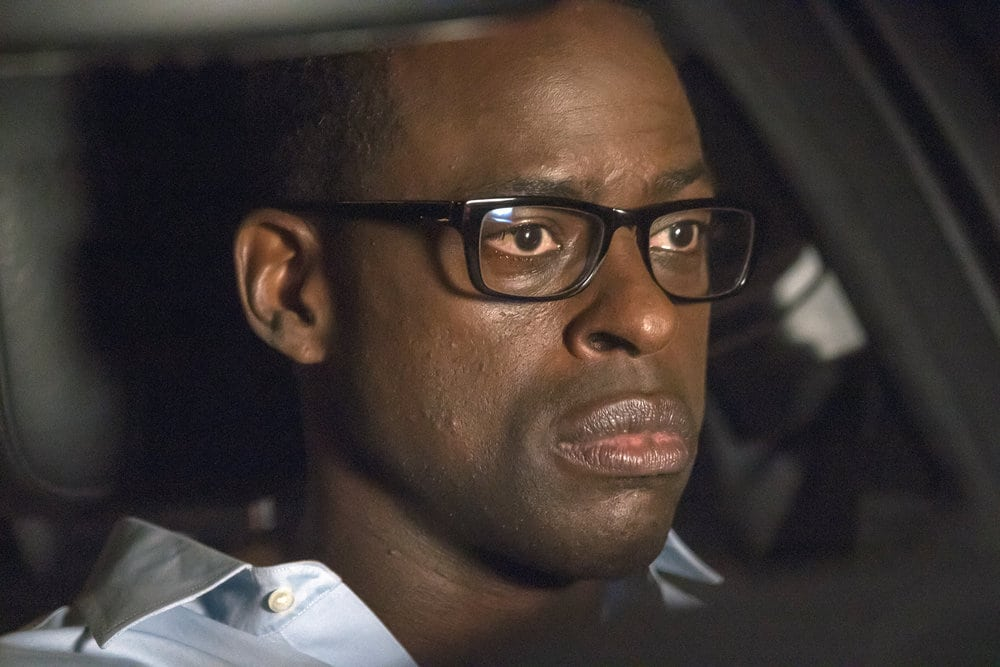 """THIS IS US -- """"The Best Washing Machine in the Whole World """" Episode 107 -- Pictured: Sterling K. Brown as Randall -- (Photo by: Ron Batzdorff/NBC)"""