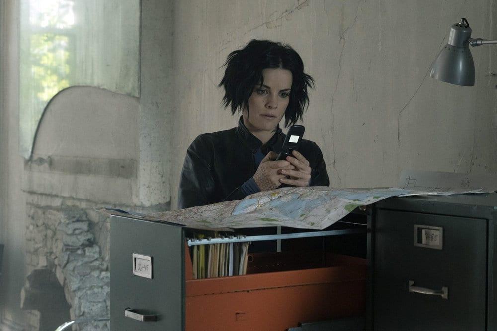 "BLINDSPOT -- ""Why Let Cooler Pasture Deform"" Episode 209 -- Pictured: Jaimie Alexander as Jane Doe -- (Photo by: Virginia Sherwood/NBC)"