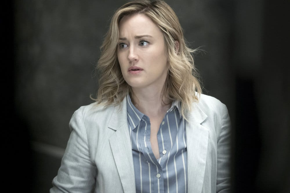 """BLINDSPOT -- """"Why Let Cooler Pasture Deform Episode 209 -- Pictured: Ashley Johnson as Patterson -- (Photo by: Virginia Sherwood/NBC)"""