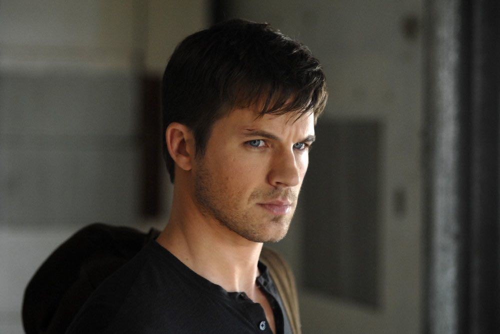"TIMELESS -- ""The Watergate Tape"" Episode 105 -- Pictured: Matt Lanter as Wyatt Logan -- (Photo by: Sergei Bachlakov/NBC)"