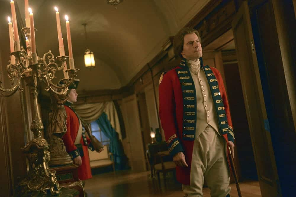 "TIMELESS -- ""The Capture of Benedict Arnold"" Episode 109 -- Pictured: Curtis Caravaggio as Benedict Arnold -- (Photo by: Sergei Bachlakov/NBC)"