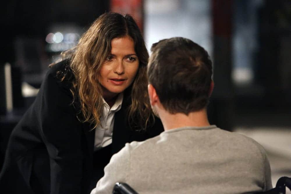 "THE BLACKLIST -- ""The Harem #111"" Episode 411 -- Pictured: Jill Hennessy as Margot"