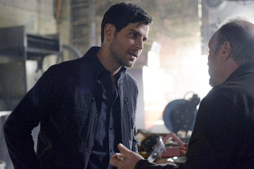 "GRIMM -- ""Fugitive"" Episode 601 -- Pictured: David Giuntoli as Nick Burkhardt"