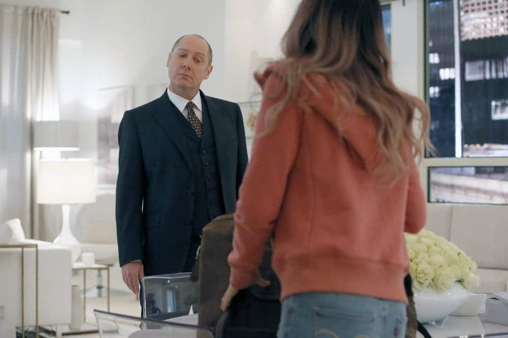 """THE BLACKLIST -- """"The Forecaster: #163"""" Episode 410 -- Pictured: James Spader as Raymond """"Red"""" Reddington -- (Photo by: Will Hart/NBC)"""