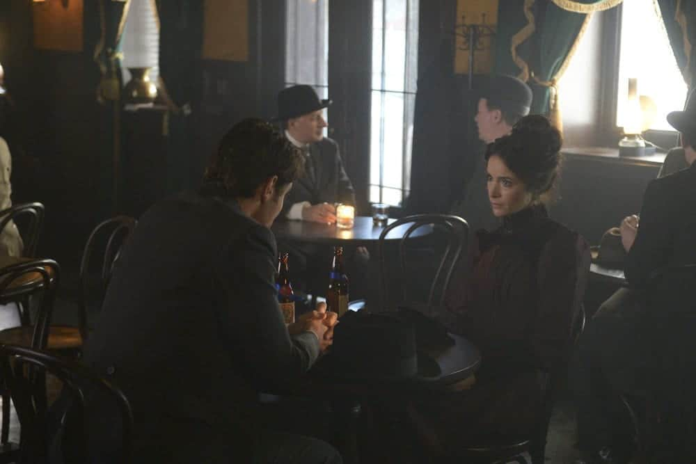"TIMELESS -- ""The World's Columbian Exposition"" Episode 111 -- Pictured: Abigail Spencer as Lucy Preston"
