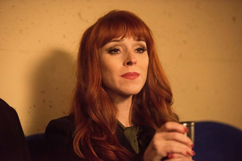 "Supernatural --""Family Feud""-- SN1213a_0420.jpg -- Pictured: Ruth Connell as Rowena"