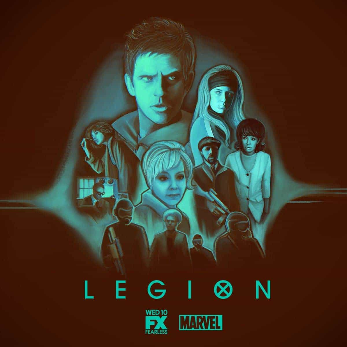 LEGION ILLUSTRATED POSTER