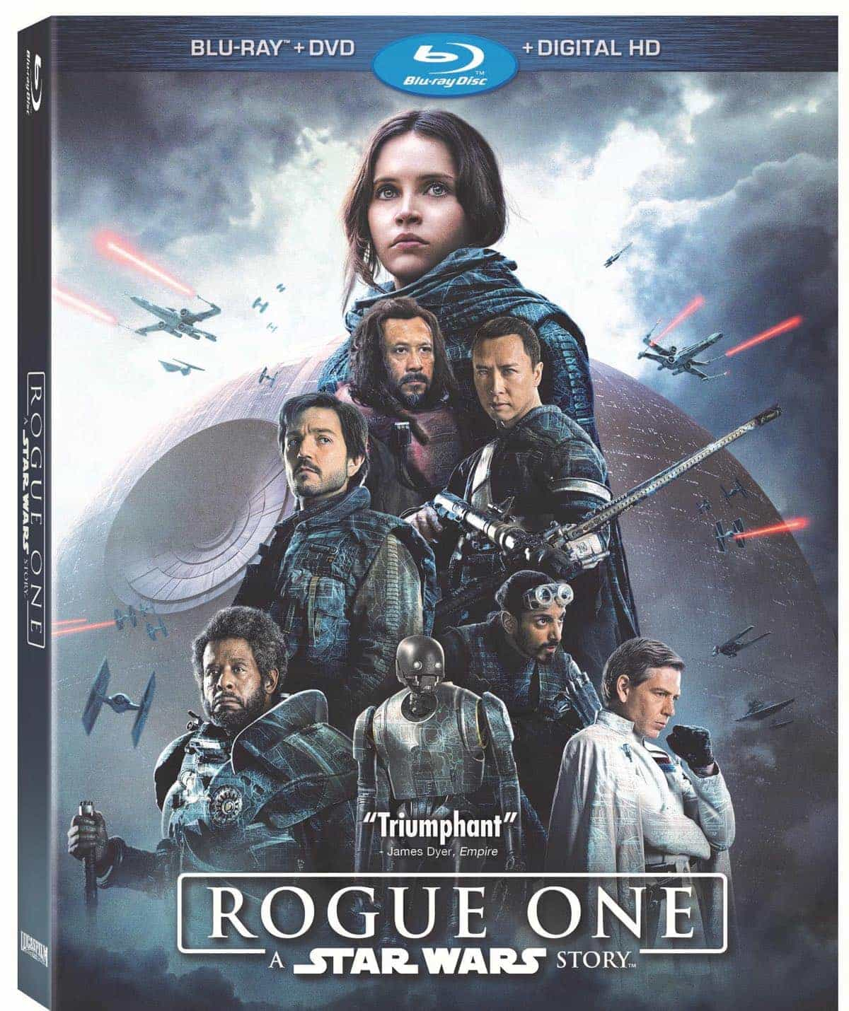 Rogue One A Star Wars Story Bluray DVD
