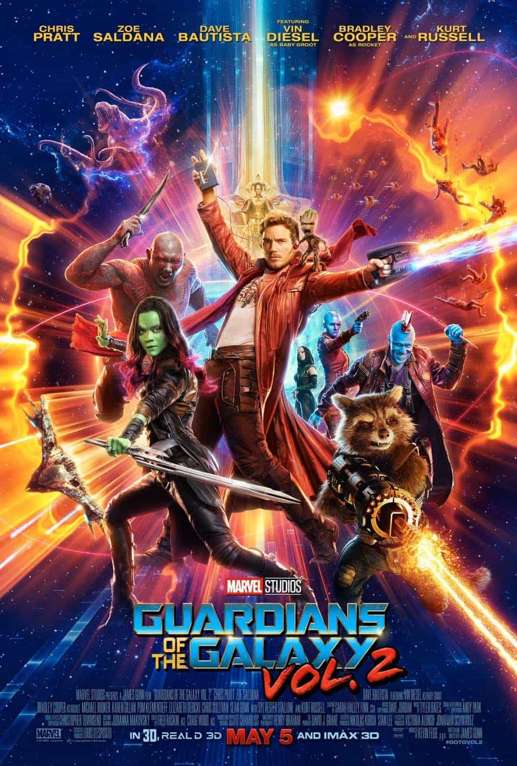 Guardians Of The Galaxy Vol 2 Blu Ray 4k And Dvd Release Details Seat42f