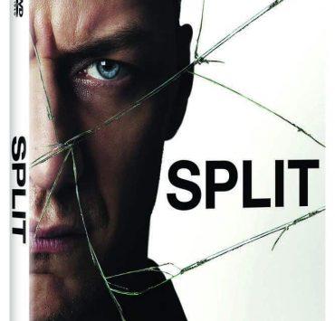 Split Bluray DVD Cover