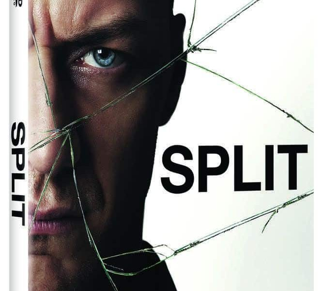 Split Bluray DVD Cover