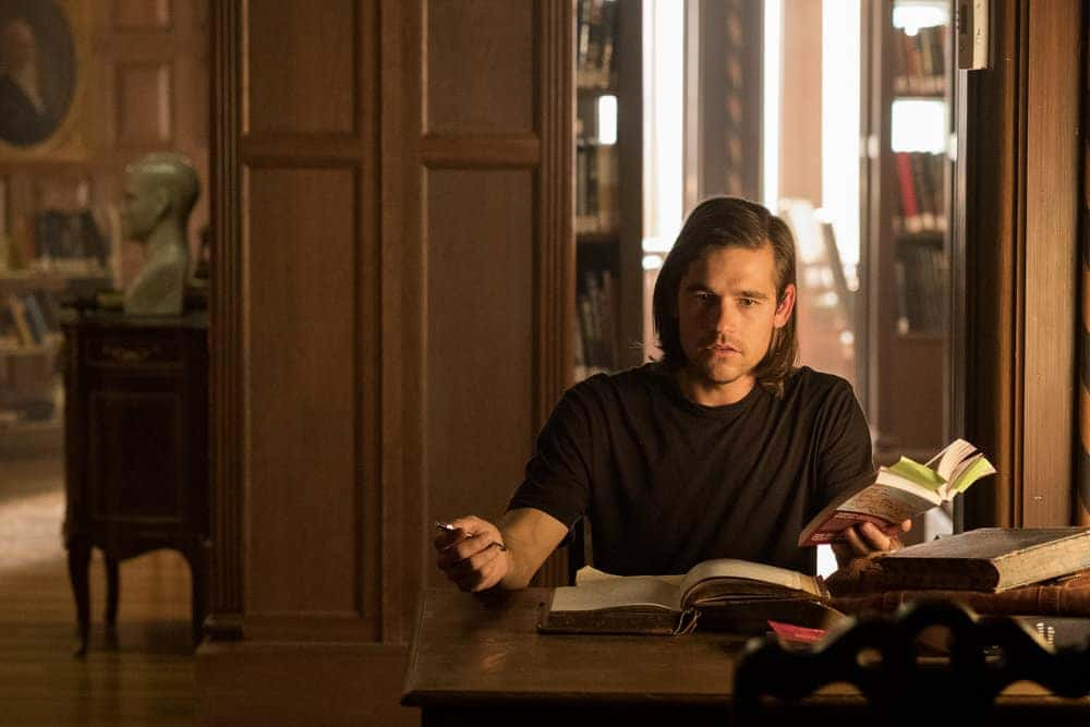 """THE MAGICIANS -- """"Plan B"""" Episode 207 -- Pictured: Jason Ralph as Quentin -- (Photo by: Eike Schroter/Syfy)"""