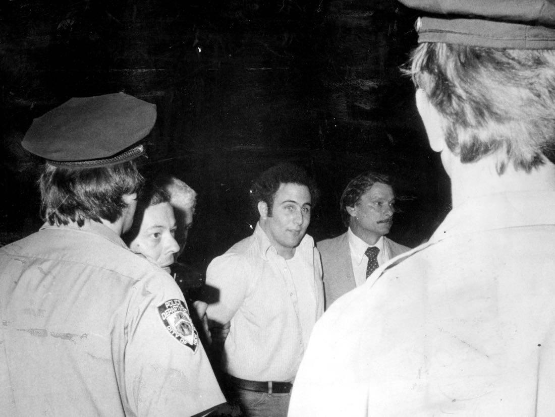 David Berkowitz Son of Sam taken into custody