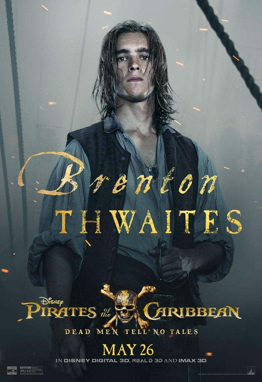 Pirates of the Caribbean: Dead Men Tell No Tales Brenton Thwaites Poster