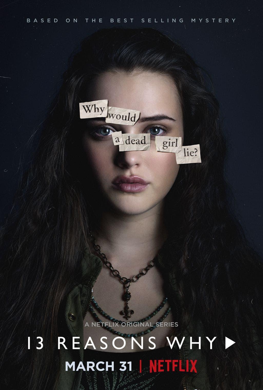 13 Reasons Why Character Poster Katherine Langford as Hannah Baker