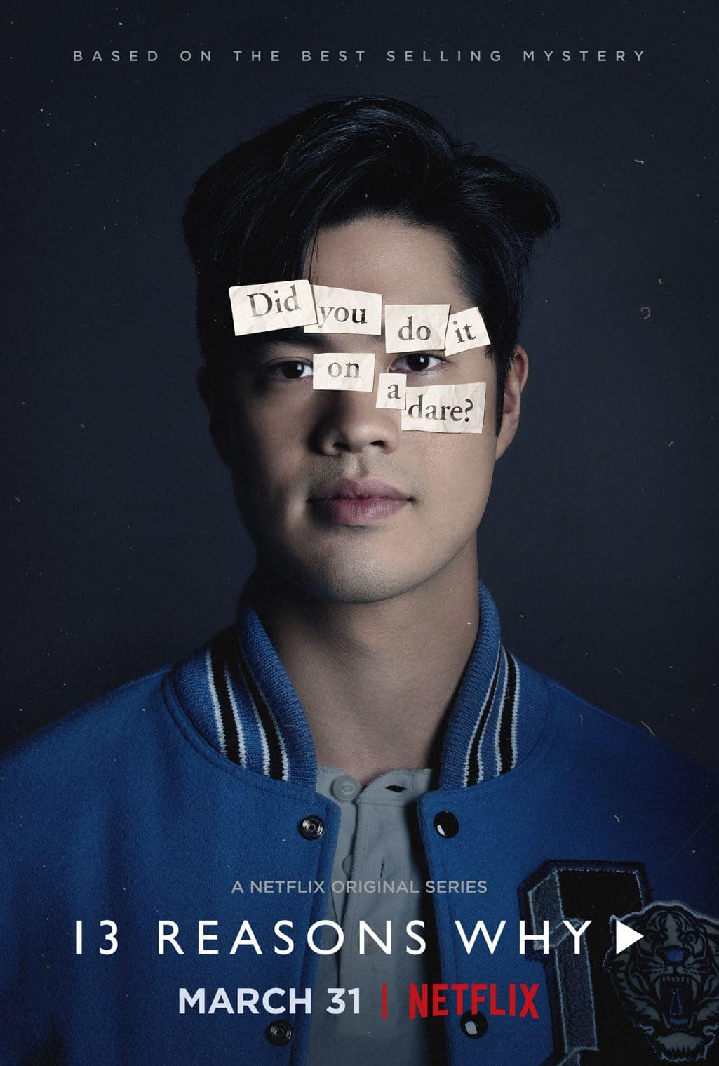13 Reasons Why Character Poster Ross Butler as Zach