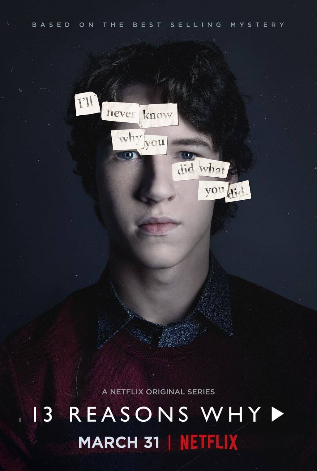 13 Reasons Why Character Poster Devin Druid as Tyler