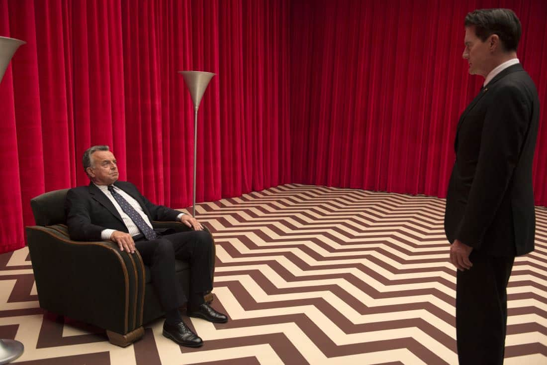Ray Wise and Kyle MacLachlan Twin Peaks
