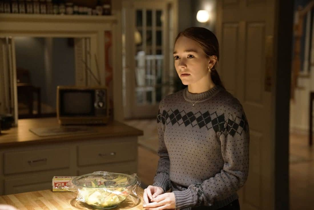 "THE AMERICANS -- ""The World Council of Churches"" -- Season 5, Episode 12 (Airs Tuesday, May 23, 10:00 pm/ep) -- Pictured: Holly Taylor as Paige Jennings. CR: Patrick Harbron/FX"