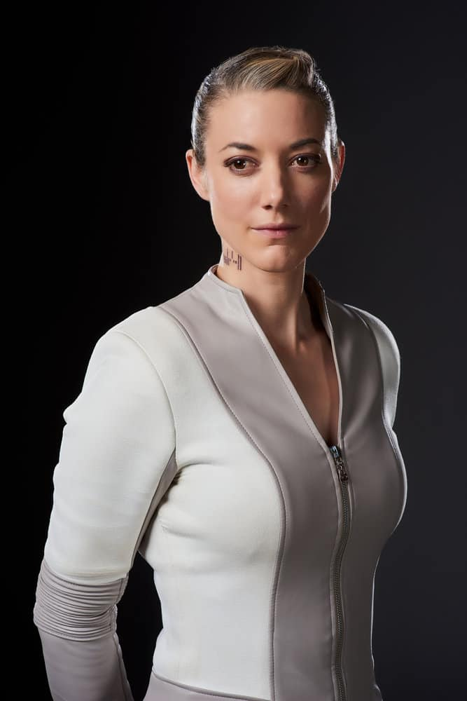 DARK MATTER -- Season:3 -- Pictured: Zoie Palmer as The Android