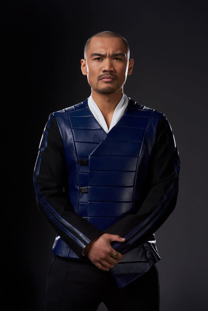 DARK MATTER -- Season:3 -- Pictured: Alex Malari Jr. as Four