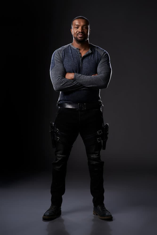 DARK MATTER -- Season:3 -- Pictured: Roger Cross as Six