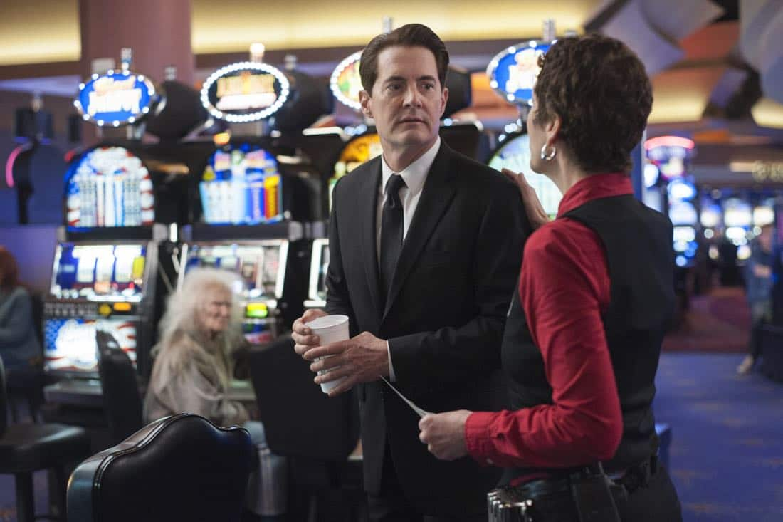 Kyle MacLachlan in a still from Twin Peaks. Photo: Suzanne Tenner/SHOWTIME
