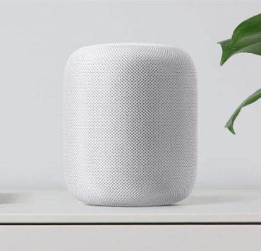 apple homepod-white-shelf