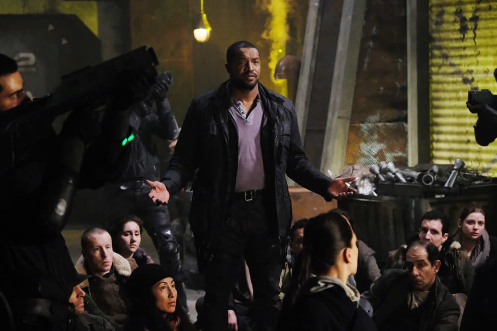"DARK MATTER -- ""Welcome To The Revolution"" Episode 303 -- Pictured: Roger Cross as Six"