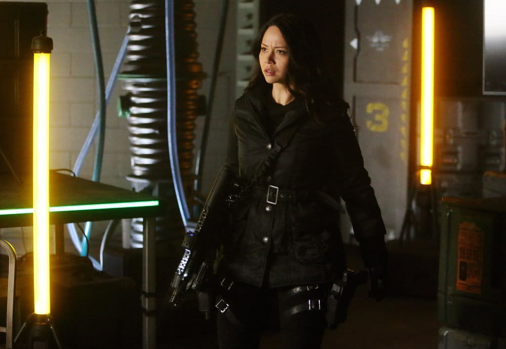 "DARK MATTER -- ""Welcome To The Revolution"" Episode 303 -- Pictured: Melissa O'Neil as Two"