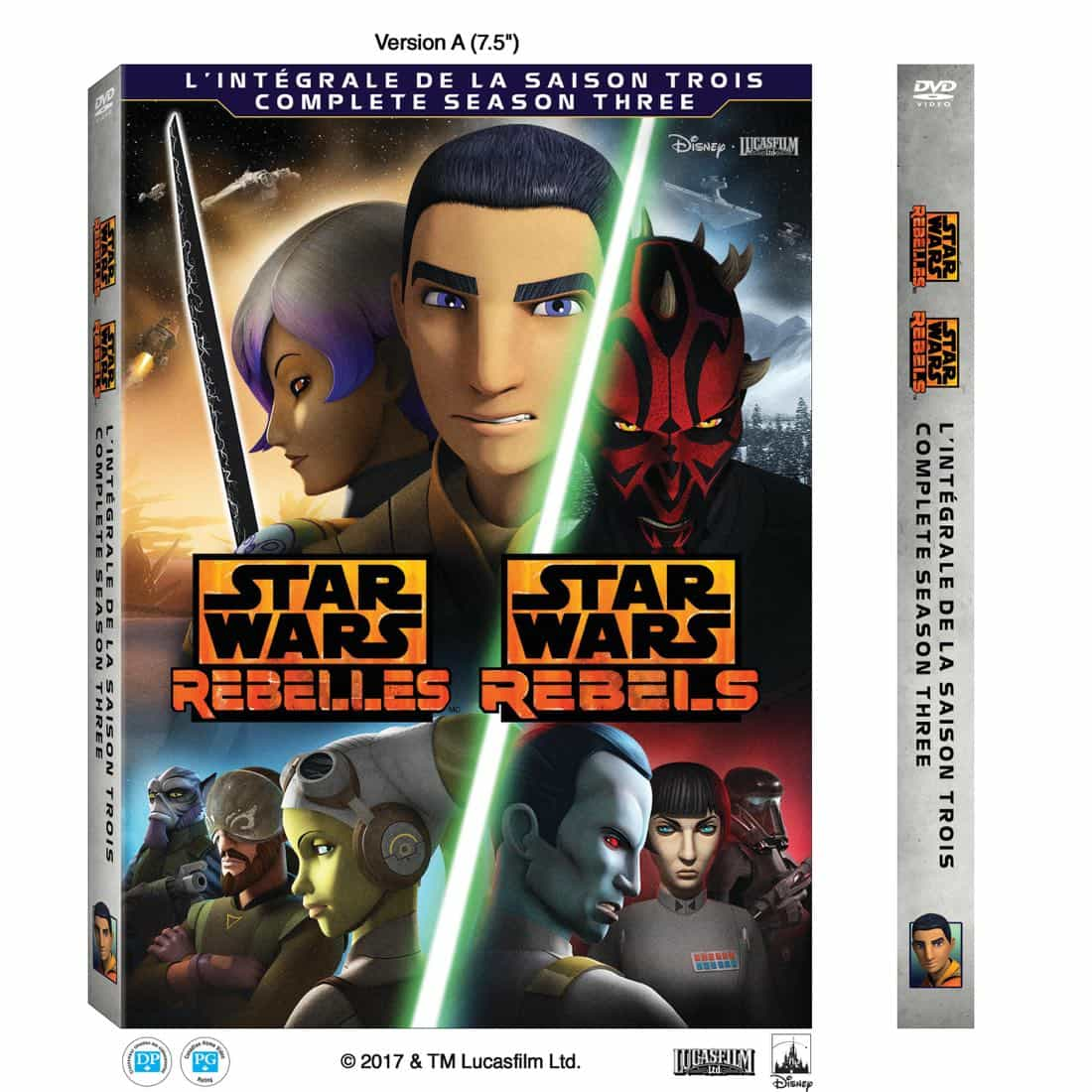 Star Wars Rebels Season 3 DVD