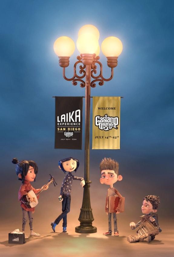 THE LAIKA Experience San Diego Comic Con