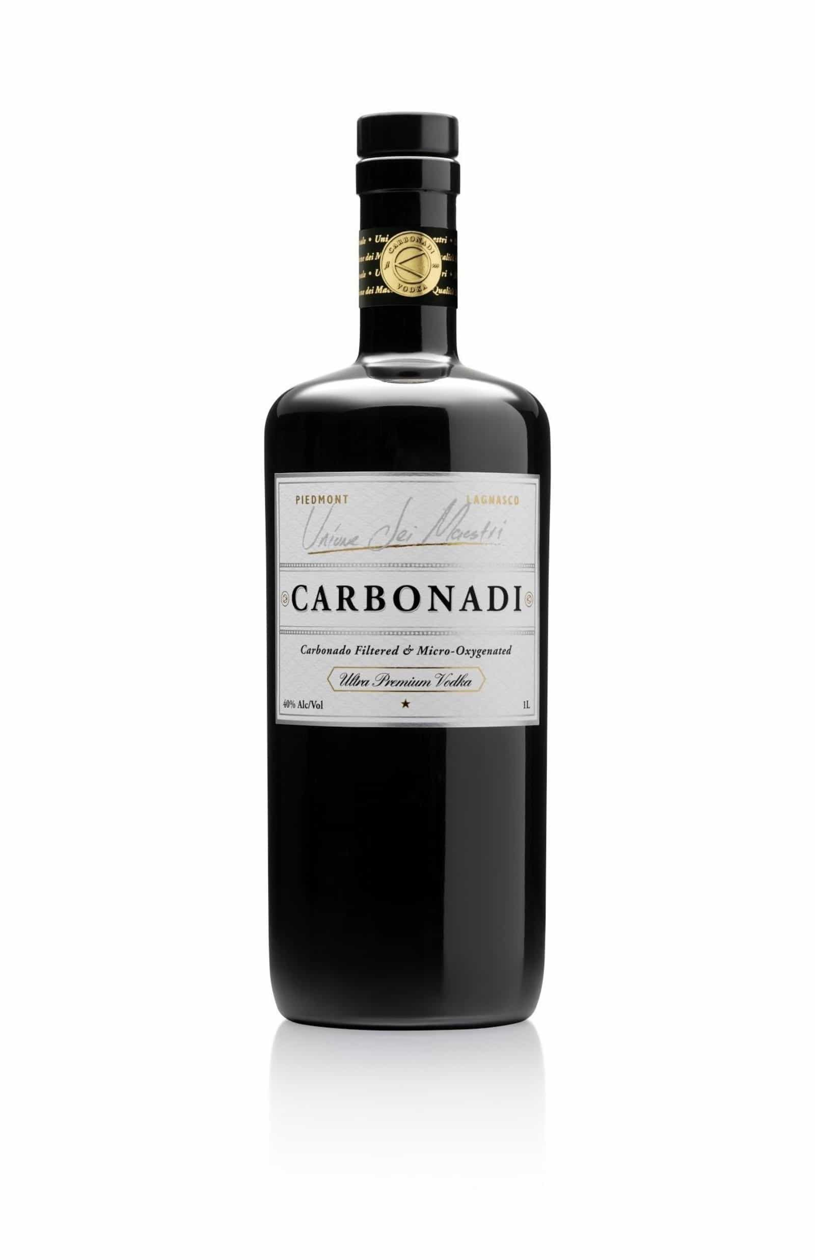 House of Carbonadi Vodka Bottle