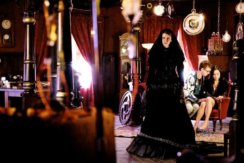 "WYNONNA EARP -- ""Whiskey Lullaby"" Episode 206 -- Pictured: Tamara Duarte as Rosita Bustillos"
