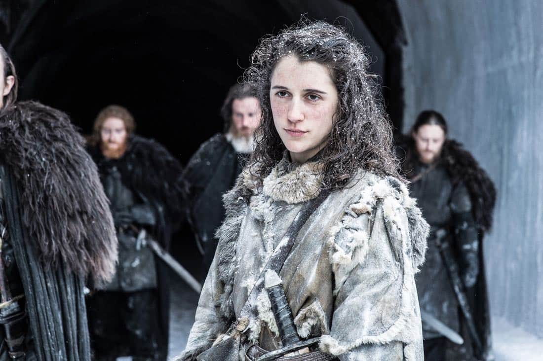 Episode 61 (season 7, episode 1), debut 7/16/17: Ellie Kendrick. photo: Helen Sloan/courtesy of HBO