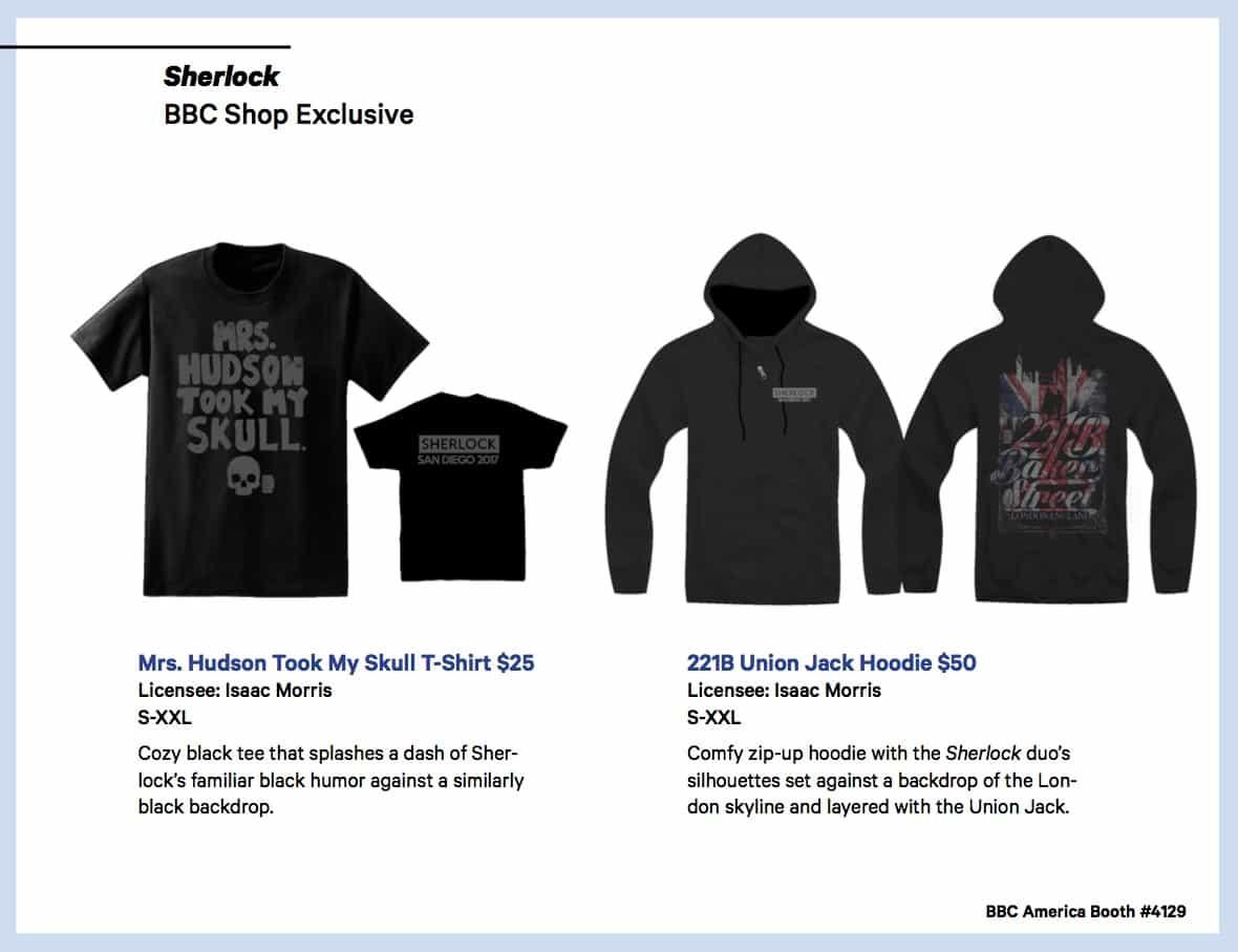 BBC Shops Official SDCC Guide 14