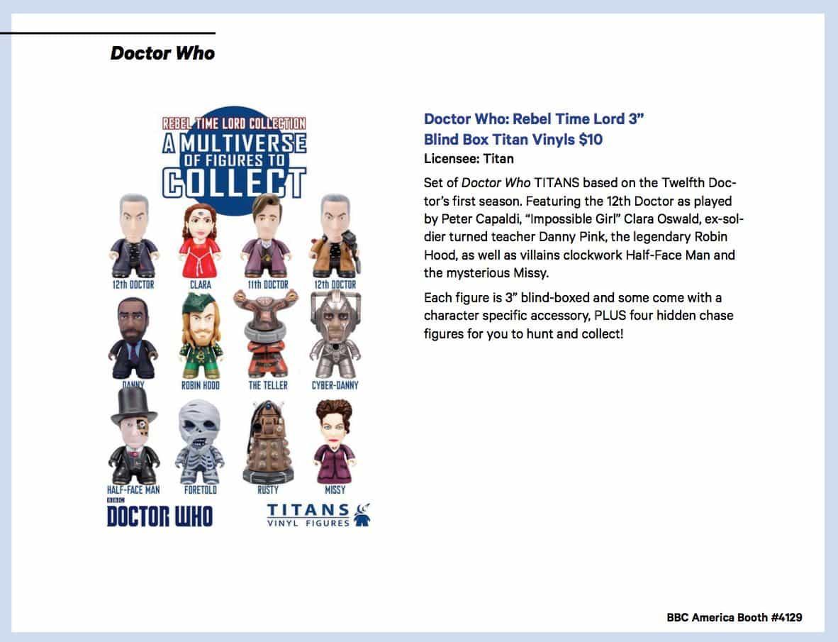 BBC Shops Official SDCC Guide 12
