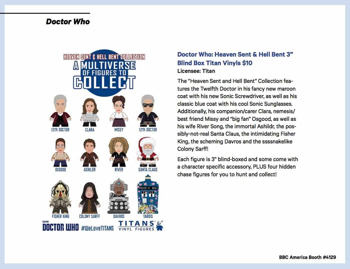 BBC Shops Official SDCC Guide 11