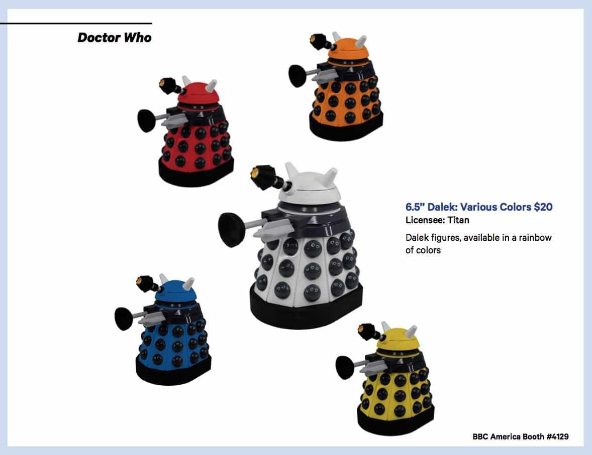 BBC Shops Official SDCC Guide 10