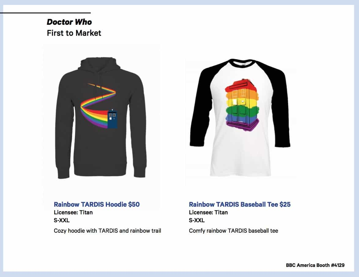 BBC Shops Official SDCC Guide 4