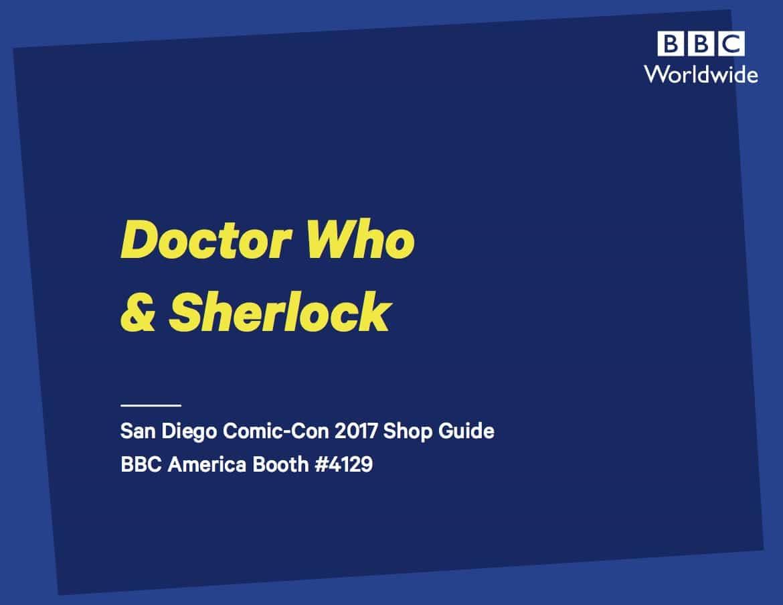 BBC Shop%E2%80%99s Official SDCC Guide