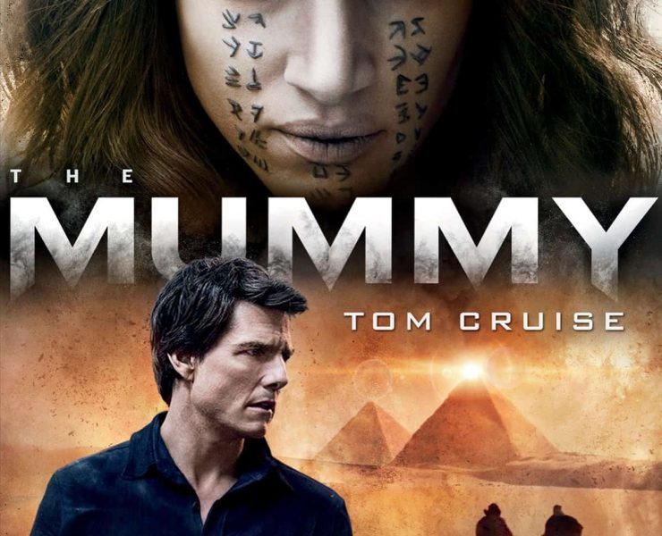 The Mummy Bluray DVD 2017