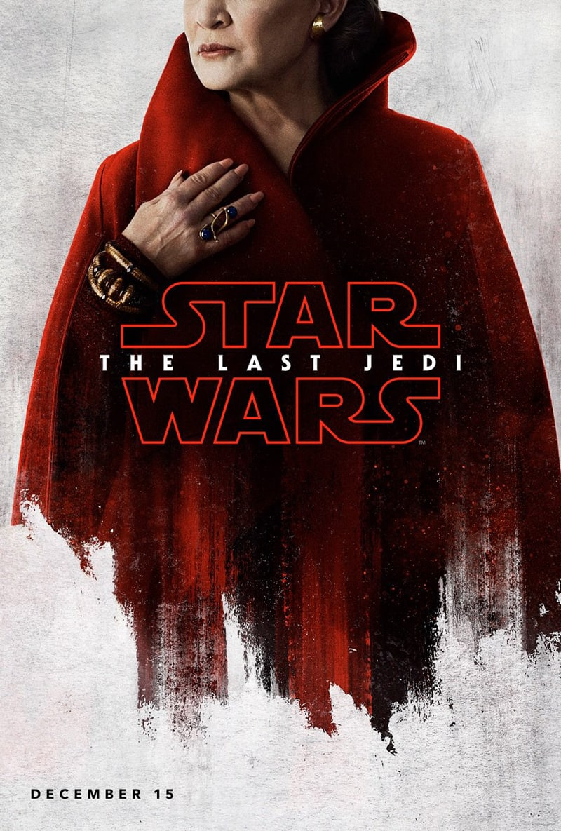 STAR-WARS-THE-LAST-JEDI-Character-Poster-Leia-Carrie-Fisher