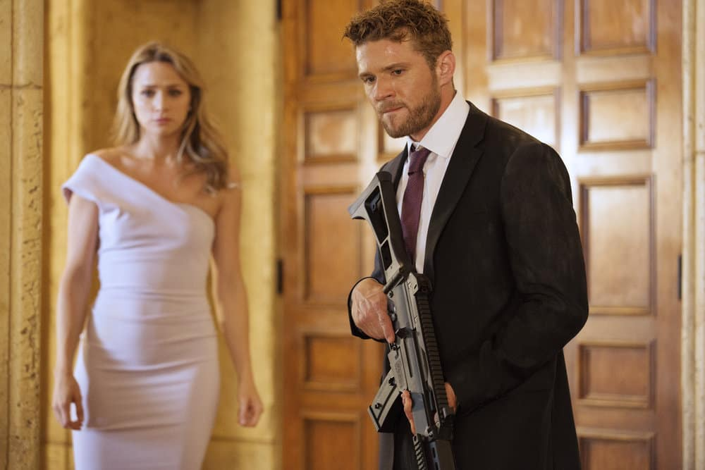 "SHOOTER -- ""The Hunting Party"" Episode 201 -- Pictured: Ryan Phillippe as Bob Lee Swagger"