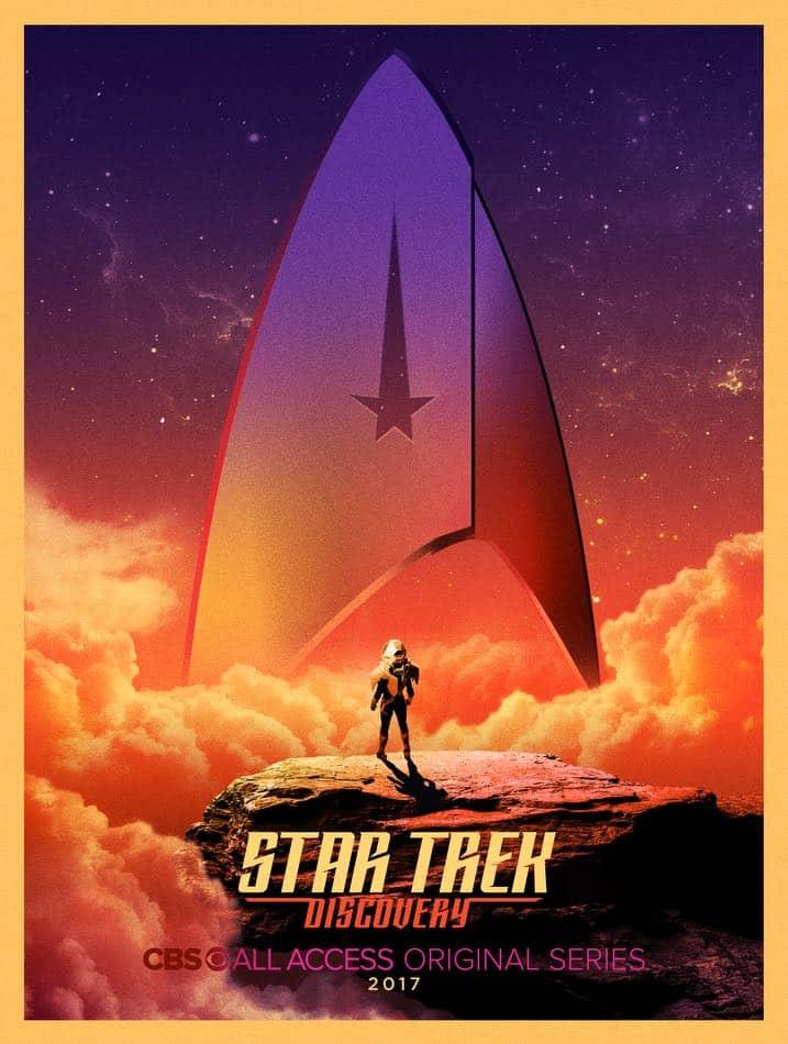 Star Trek Discovery Comic Con Poster