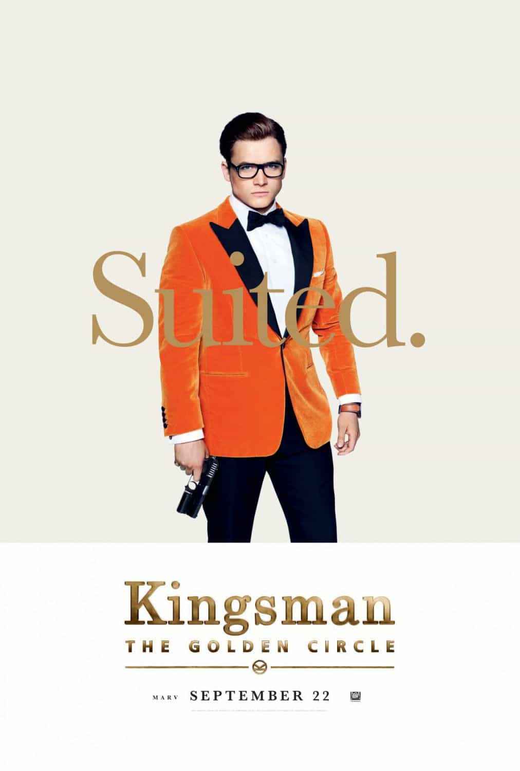 KINGSMAN THE GOLDEN CIRCLE Character Poster Taron Egerton