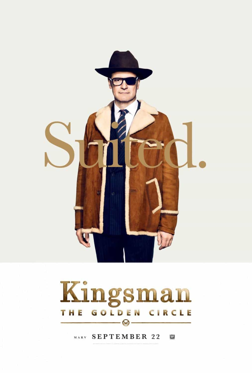 KINGSMAN THE GOLDEN CIRCLE Character Poster Colin Firth