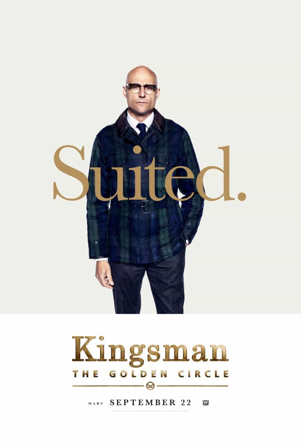 KINGSMAN THE GOLDEN CIRCLE Character Poster Mark Strong