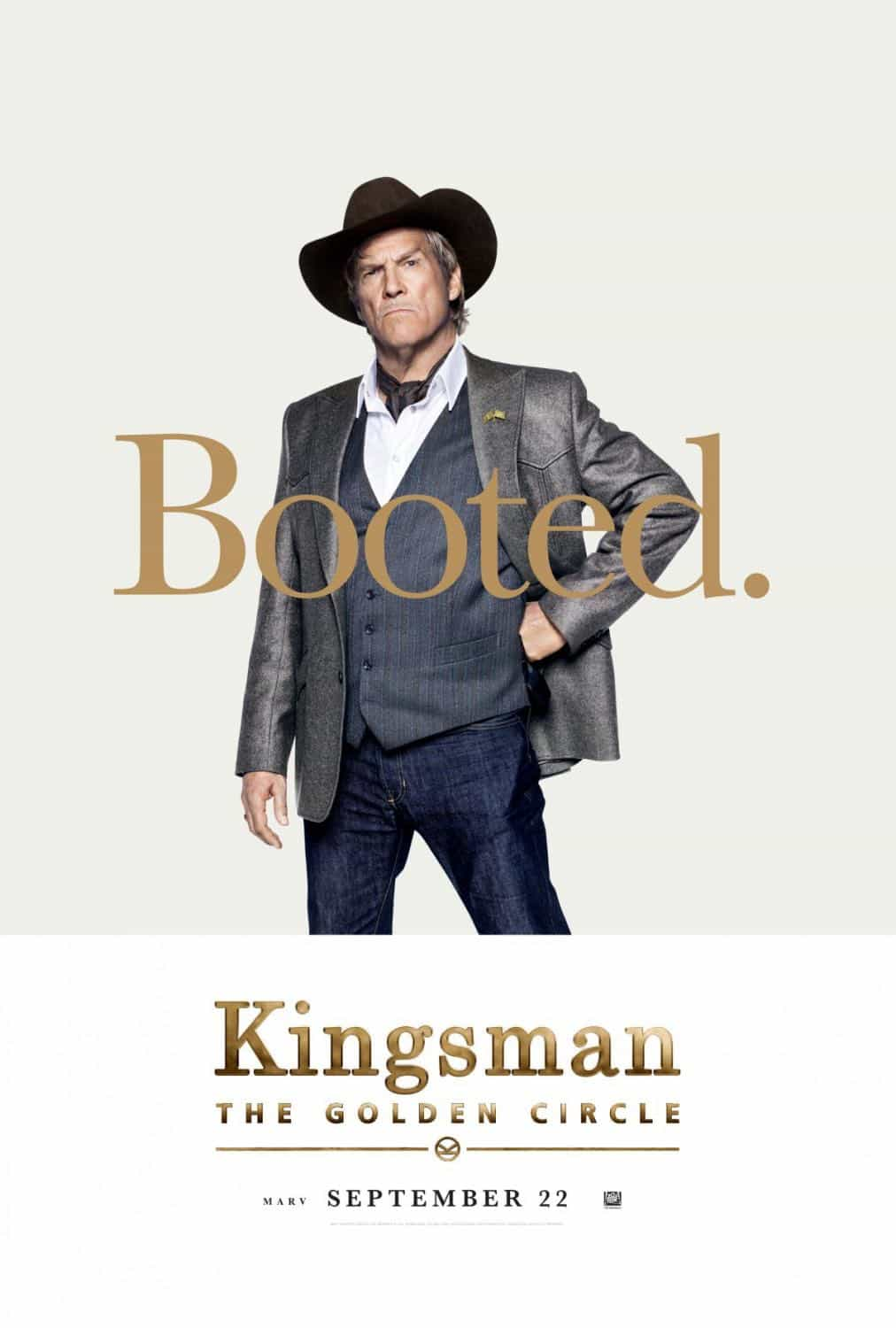 KINGSMAN THE GOLDEN CIRCLE Character Poster Jeff Bridges